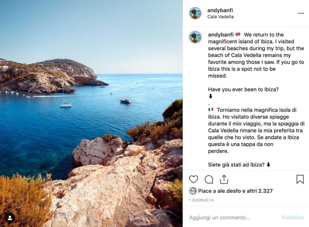 Profilo Instagram AndyBanfi, Andrea Banfi - AndyBanfi.com