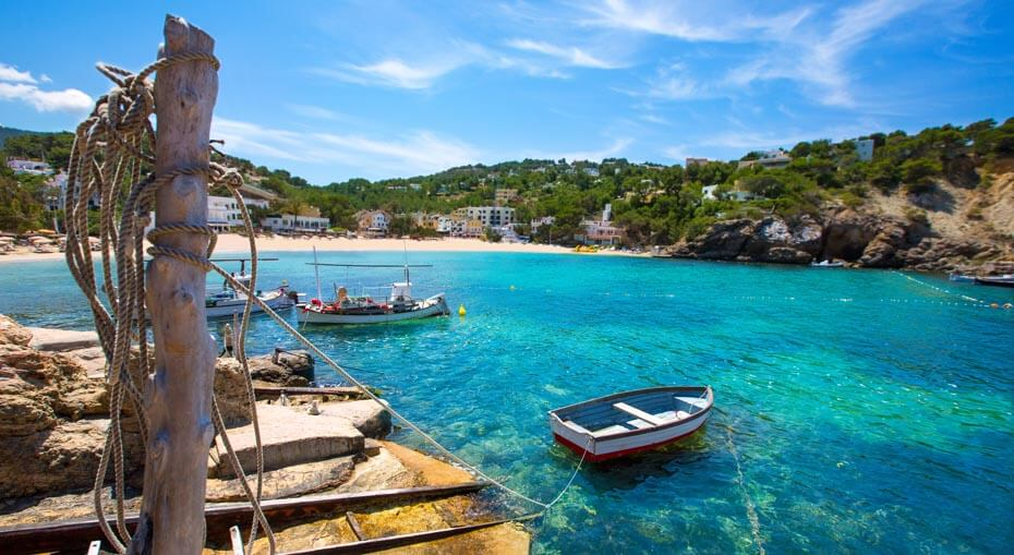 Spiaggia e mare di Cala Vadella - AndyBanfi.com