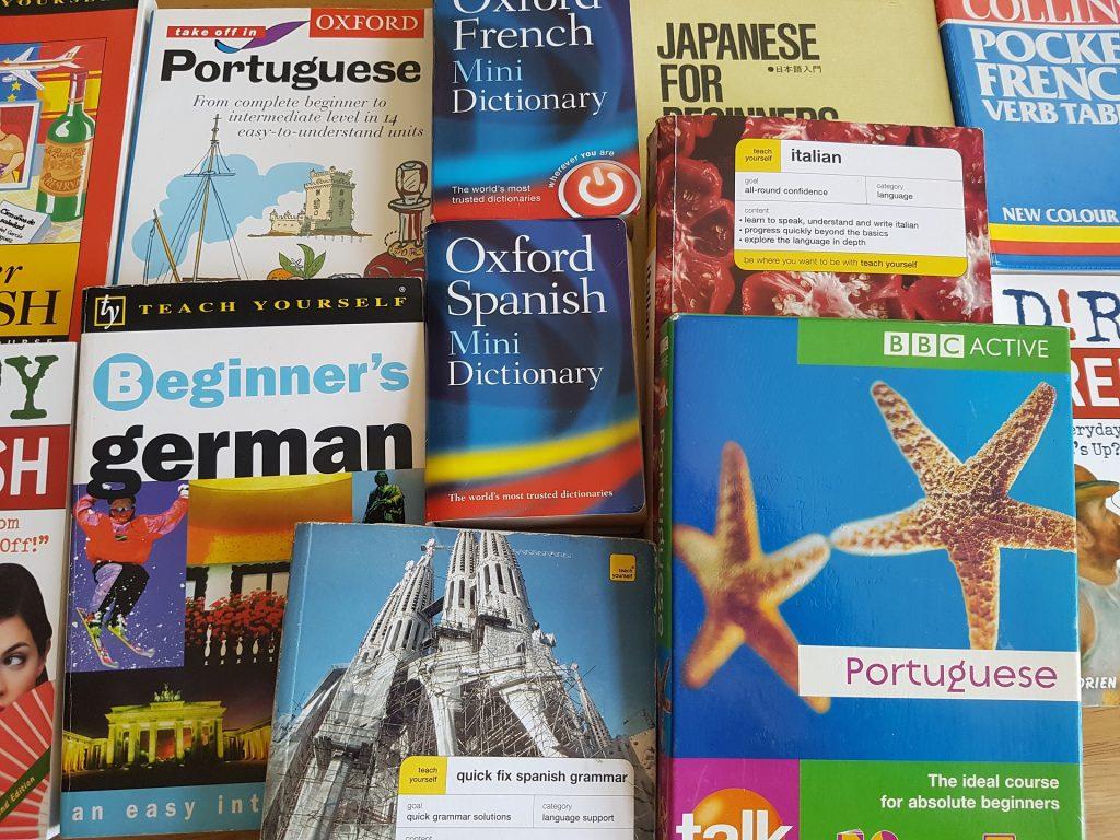 Le lingue più parlate al mondo. I dizionari per giare il mondo.
